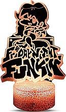 FNF Friday Night Funkin Led Night Lights 3D