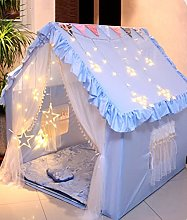Fnho Large Kids Play House Play Tent,Natural