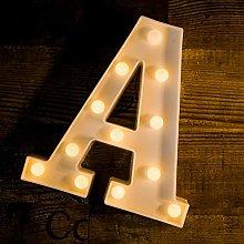 Foaky LED Letter Lights Sign 26 Alphabet Light Up