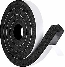 Foam Tape Weatherstrip, 1 Inch Wide X 1 Inch Thick