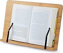 FOCCTS Book Stand Reading Rest Cookbook Holder