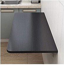 Fold Down Table Folding Wall-Mounted Laptop Table,