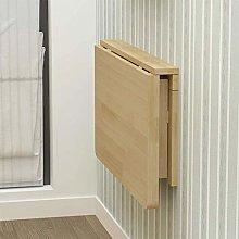 Fold Down Wall Mounted Workbench Drop-Leaf Table