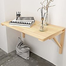 Fold wall mounted table Solid wood Wall Mounted -