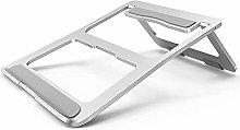 Foldable Aluminum Laptop Stand, Adjustable Laptop