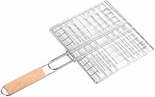 Foldable Barbecue Grilling Basket Grill BBQ Net