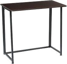 Foldable Computer Desk Folding Laptop PC Table