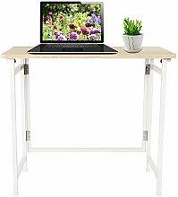 Foldable Computer Desk, Folding Portable Home
