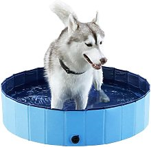 Foldable Dog Pool, Bath Shower Pool Dog / Cat /