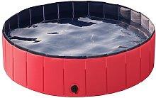Foldable Dog Swimming Pool Pet Puppy Bath Tub