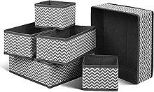 Foldable Home Storage Organizador Non-woven Scarfs