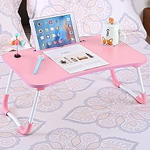 Foldable Laptop Bed Table, Portable Lap Desk,