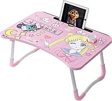 Foldable Laptop Desk, Bed Tray Lap Desk, Portable