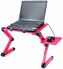 Foldable Laptop Desk (With Electric Fan), Portable