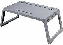 Foldable Laptop Table, Portable Computer Desk