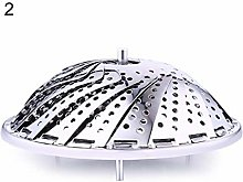 Foldable Mesh Basket Stainless Steel Vegetable
