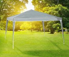 Foldable Party Tent 3x3 m Grey - Grey - HI