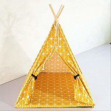 Foldable Pet Tent Cat Dog House Bed Puppy Teepee