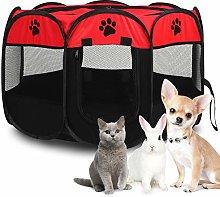 Foldable Pet Tent, Portable Pet Playpen Oxford