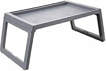Foldable Plastic Laptop Bed Tray Table Portable