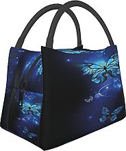 Foldable Portable Insulated Lunch Bag Tote,Dark