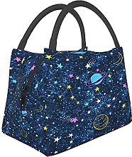 Foldable Portable Insulated Lunch Bag Tote,Space