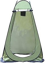 Foldable portable shower tent for outdoor camping,