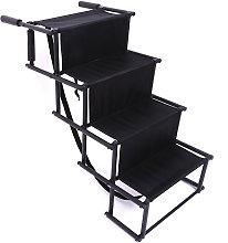Foldable Ramp Access Steps Pet Dog Car Ladder