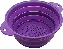 Foldable Silicone Filter Baskets Collapsible