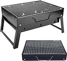 Foldable Smoker BBQ Grill, Mini Portable Tabletop