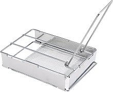 Foldable Stainless Steel Toaster Plate Portable