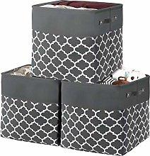 Foldable Storage Basket Bin set,Collapsible Fabric