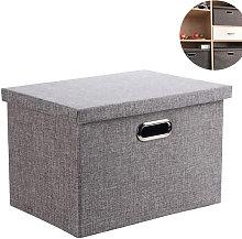 Foldable storage box, storage box, foldable linen