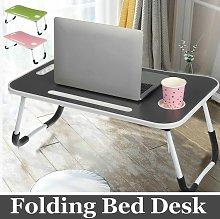 Folded Bed Desk Laptop Table Bedroom Dormitory