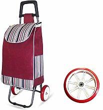 Folded cart 2 Round Large Capacity Light Wheel