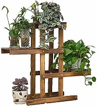Foldify Wood Plant Stand Plywood Flower Pot Stand