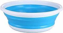 Folding Basin Blue Portable Multifunctional