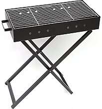 Folding BBQ Charcoal Grill with Stand, Protable