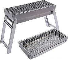Folding Camping Picnic Grill Stainless Steel