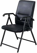 Folding Computer Chairs, PU Cushion Desk Chair,