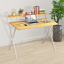 Folding Computer Desk Collapsible Home Office