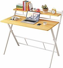 Folding Computer Desk for Small Space Space Saving