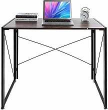 Folding Computer Desk Industrial Style Folding