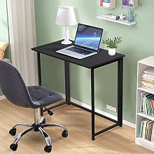 Folding Computer Table Study Writing Desk Fold Up