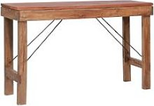 Folding Console Table 130x40x80 cm Sold Reclaimed
