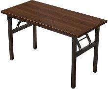 Folding Desk Computer Desk Laptop Mdf+steel Frame