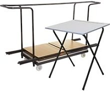 Folding Exam Desk Bundle Deal (40 Desks & 1