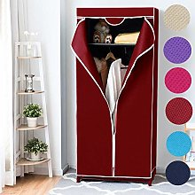 Folding Fabric Canvas Wardrobe,Single Canvas