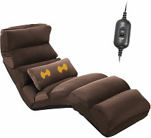 Folding Floor Sofa Massage 5 Positions Adjustable
