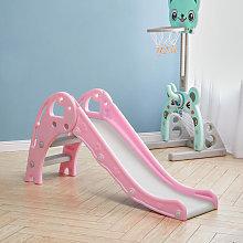 Folding Kids Toddler Climber Slide Set